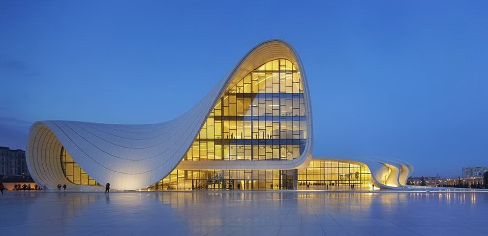 Architettura moderna: Heydar Aliyev