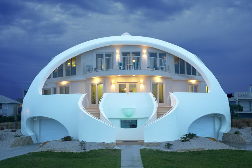 Architettura moderna dome house for Architettura moderna della casa