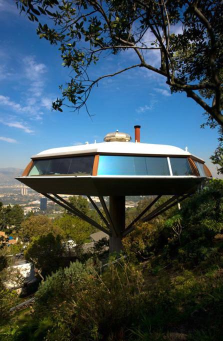 Architettura moderna chemosphere house - Architettura casa moderna ...