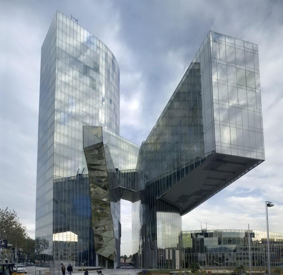 Architettura moderna gas natural for Architettura contemporanea barcellona