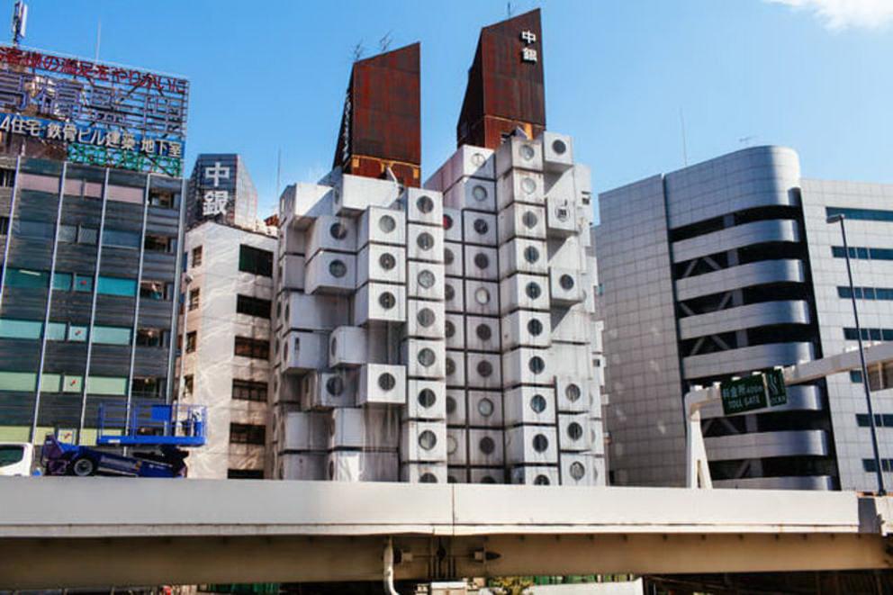 architettura moderna nakagin capsule tower